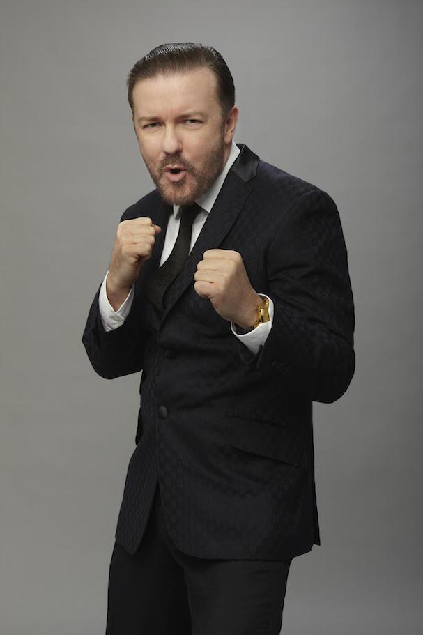 Ricky Gervais Golden Globes 607 2