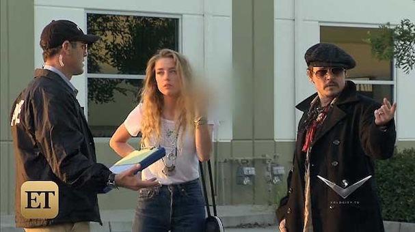 Johnny Depp pranks wife 607 1