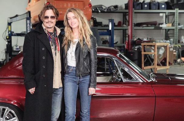 Johnny Depp pranks wife 607 2