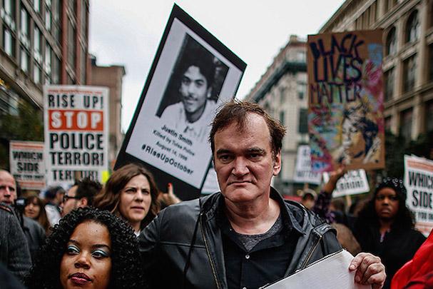 Tarantino Police Brutality Protest 607 3