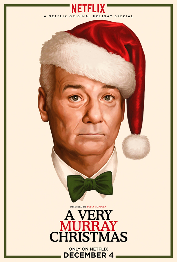very murray christmas poster 607