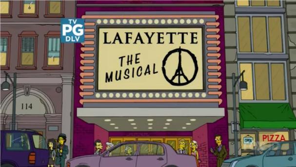 Simpsons Paris Tribute 607