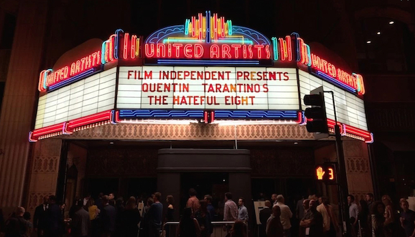 Hateful Eight marquee 607