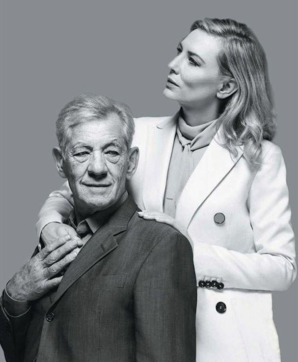 Cate Blanchett Ian MacKellen