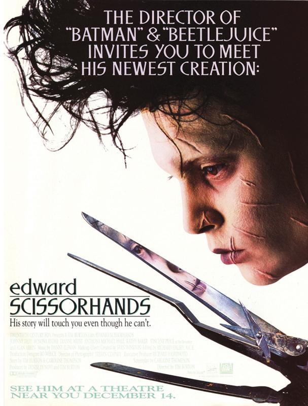 edward scissorhands poster 607