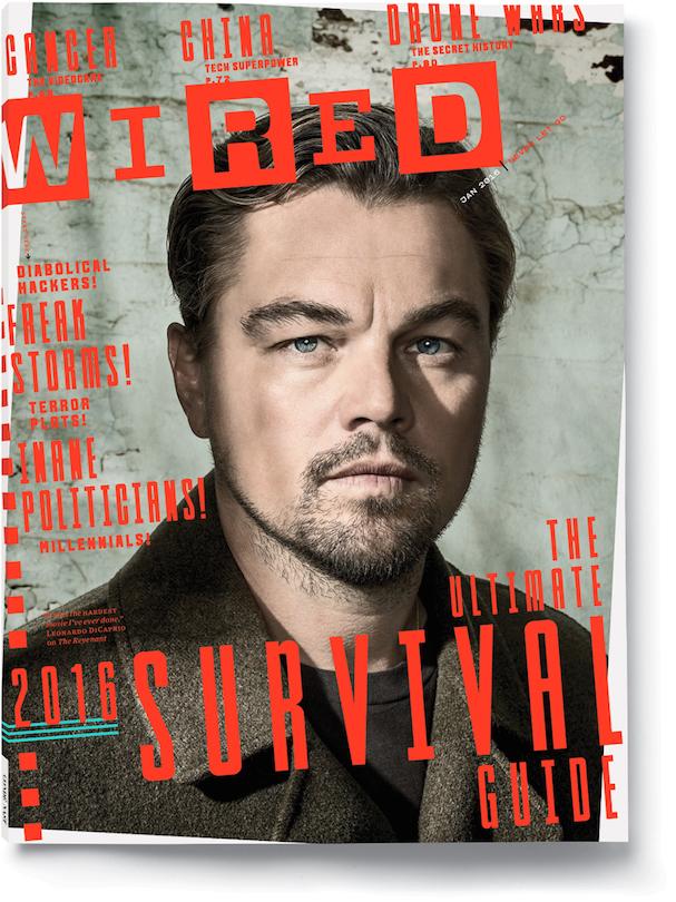 Leonardo DiCaprio Wired 607 cover