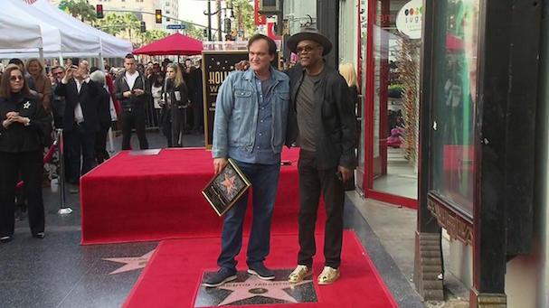 Tarantino star Walk of Fame 607 1
