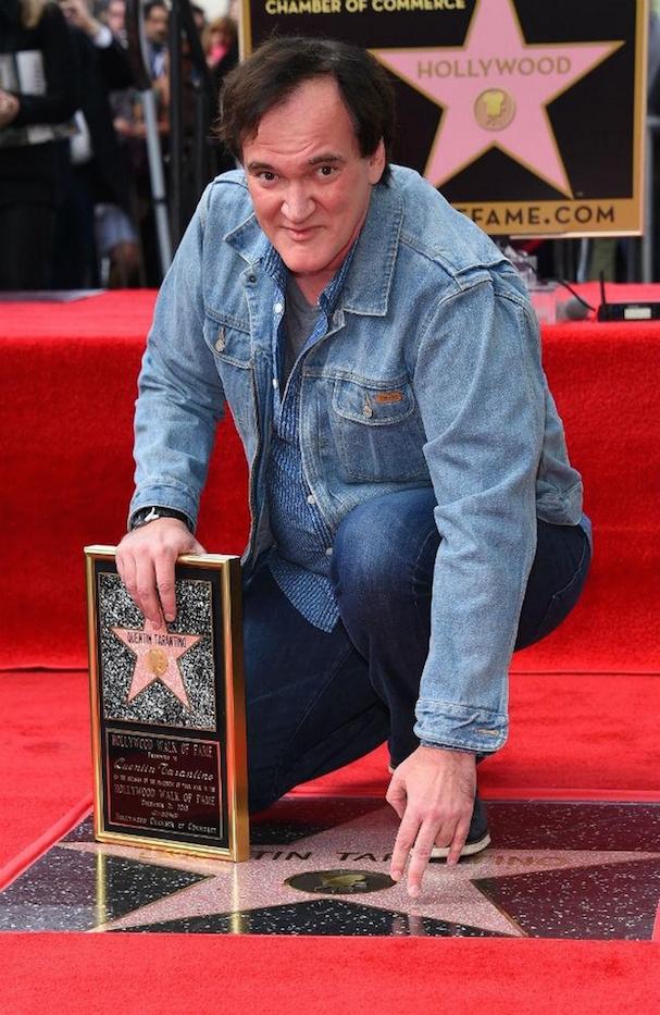Tarantino star Walk of Fame 607 2