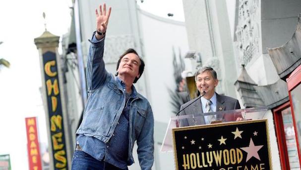 Tarantino star Walk of Fame 607 3