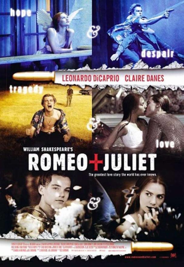 romeo + juliet poster 607