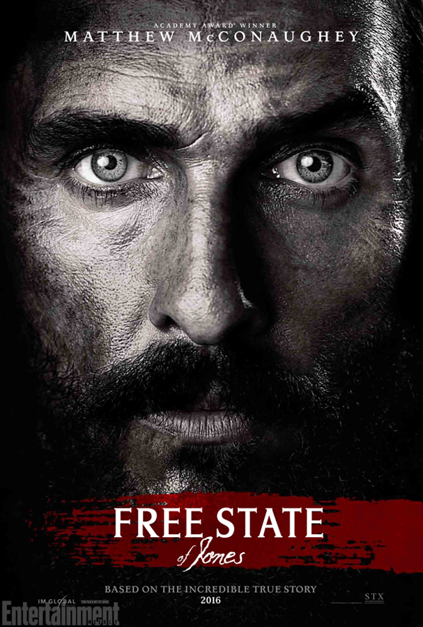 free state of jones poster 607
