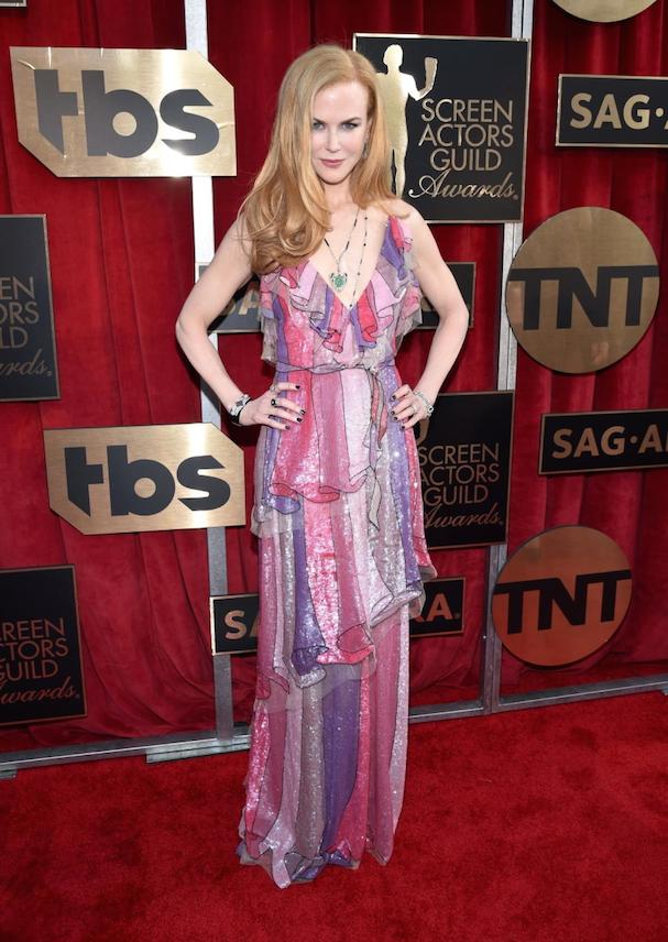 Nicole Kidman SAG 2016