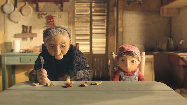 stuffed granny 607