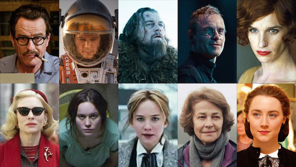 Oscars 2016 Acting Nominees 607