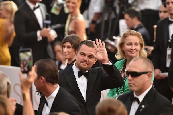 Leonardo di Caprio Oscars 2016