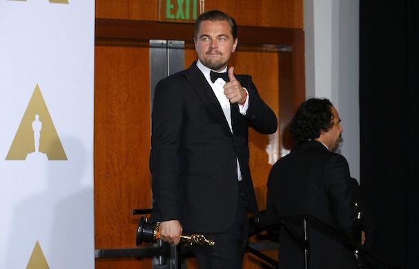 Leonardo DiCaprio Oscar 607 2