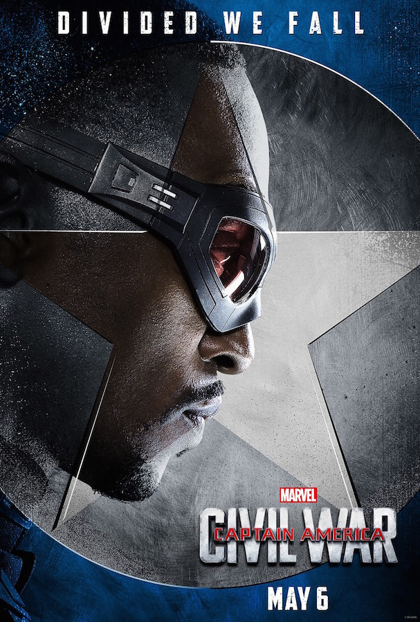 2 Captain America Civil War Character Posters 607