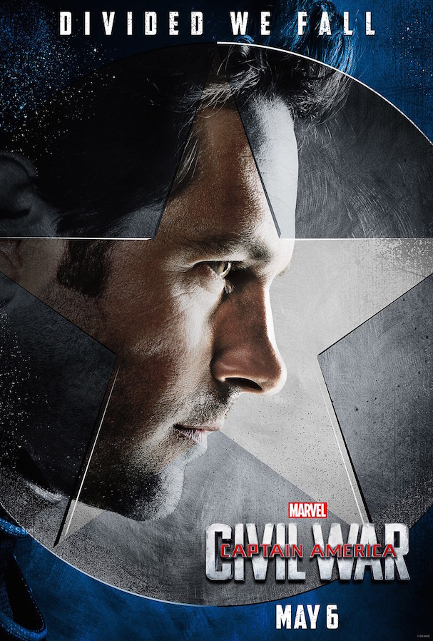 6 Captain America Civil War Character Posters 607