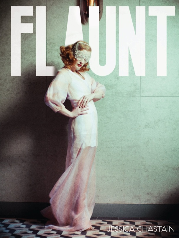 Jessica Chastain Flaunt