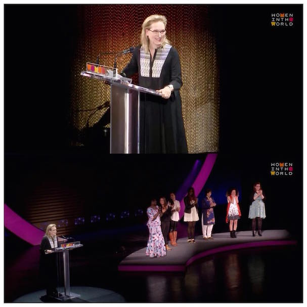 Meryl Streep Women in the World 607