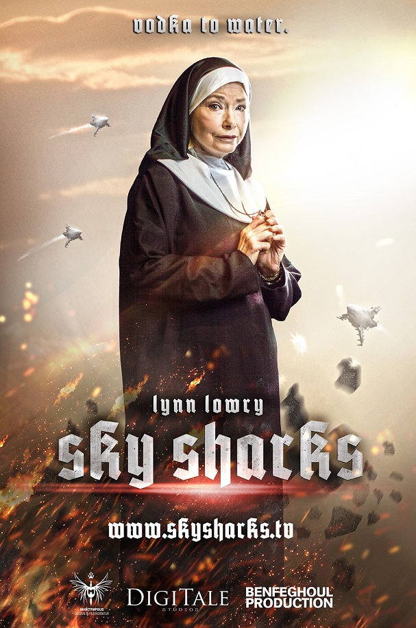Sky Sharks poster 5