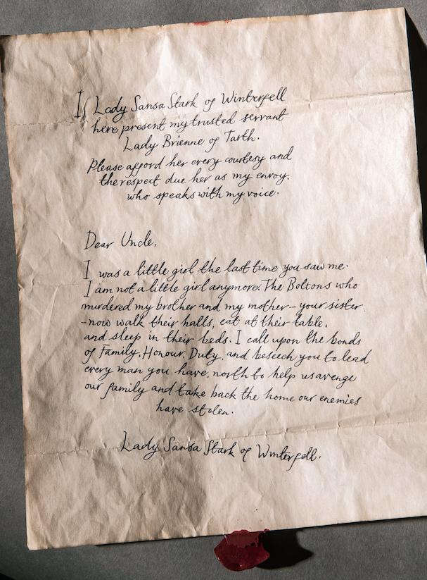 Sansa letter 607