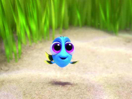 Finding Dory baby Dory 607