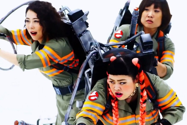 Ghostbusters japanese music video 1 607