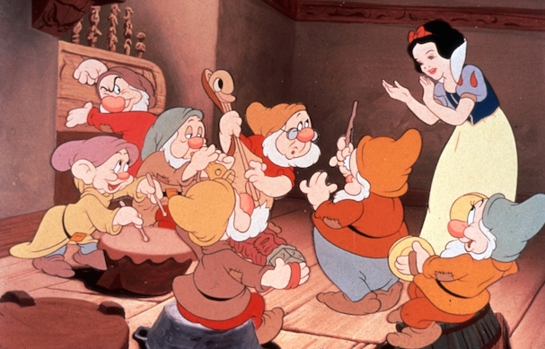 Snow White and the Seven Dwarfes 607