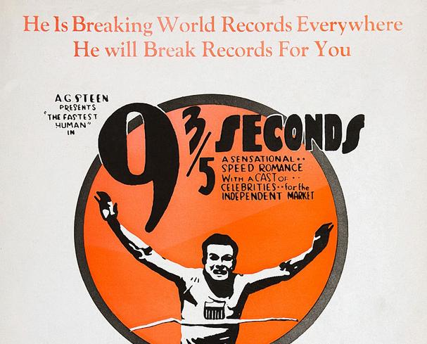 9 3/5 seconds 607