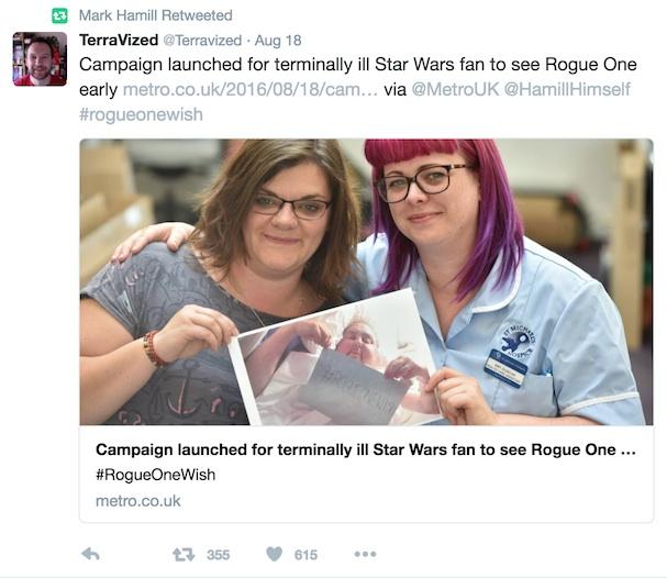 Rogue One Wish