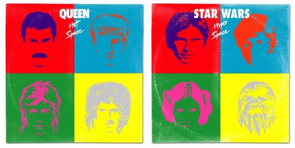 Star Wars album covers 607