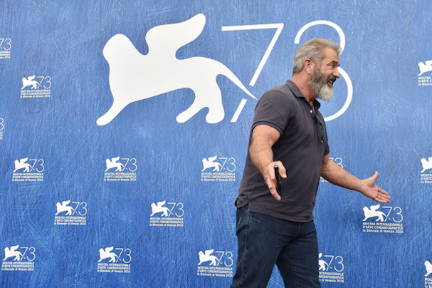 Mel Gibson Venice