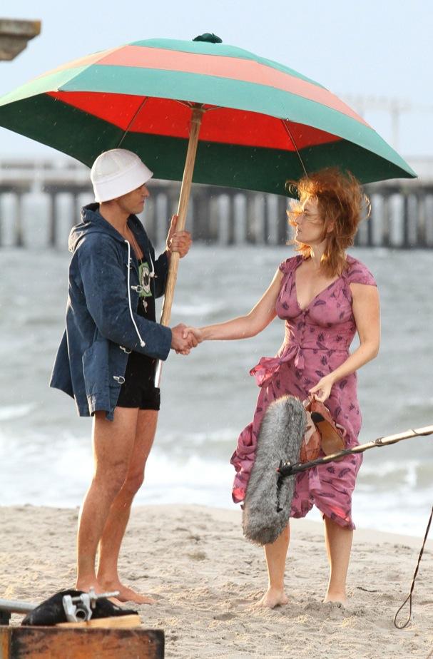 Justin Timberlake Kate Winslet Woody Allen Shooting 607