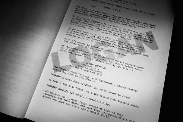 Wolverine 3 Script