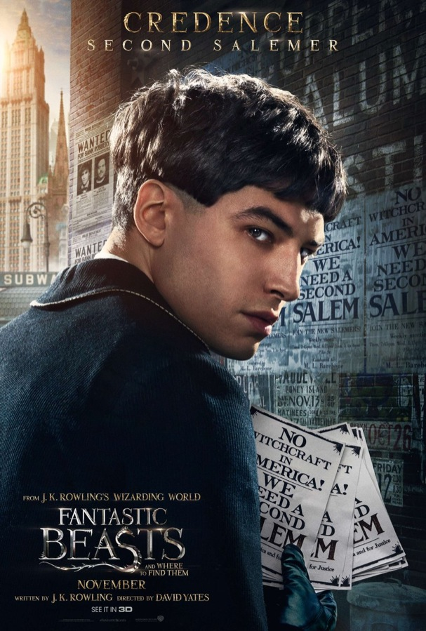 Fantastic Beasts and Where to Find Them Poster Characters 607