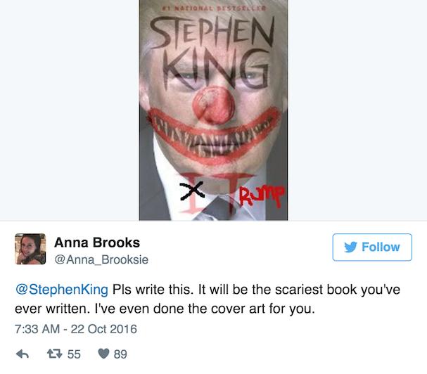Trump Stephen King