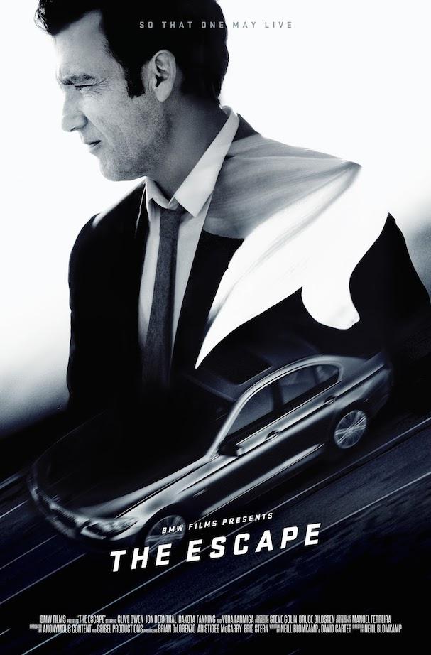 BMW The Escape Poster 607