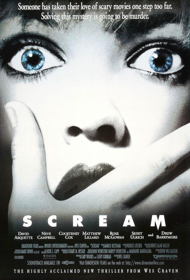 Scream Poster 607