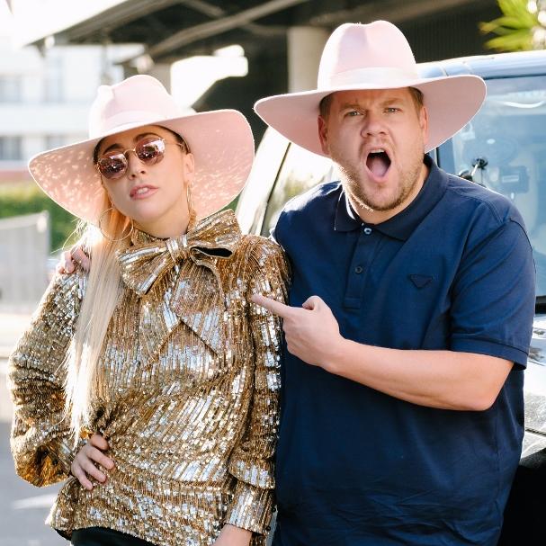 Lady Gaga James Corden 607