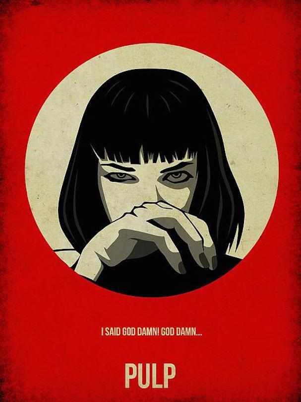 Pulp Fiction alternative poster 607