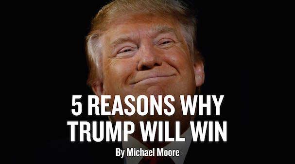 Trump wil win 607