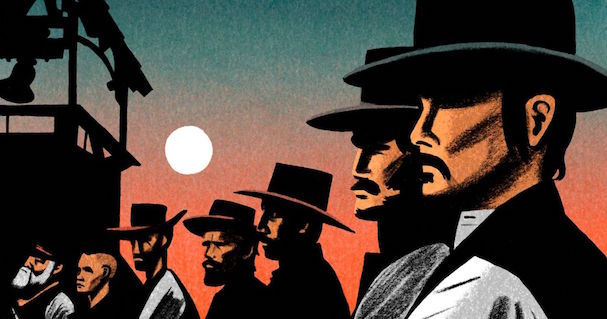 new yorker The Magnificent Seven 607