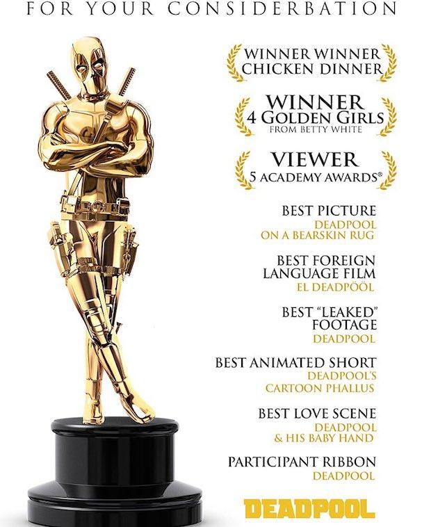 Deadpool Oscars