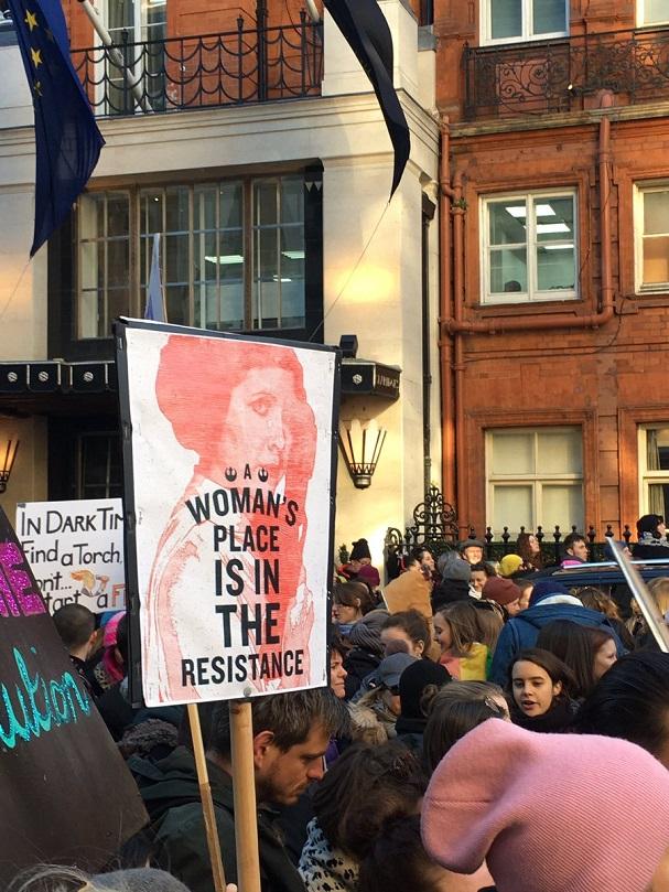 Women's March 607