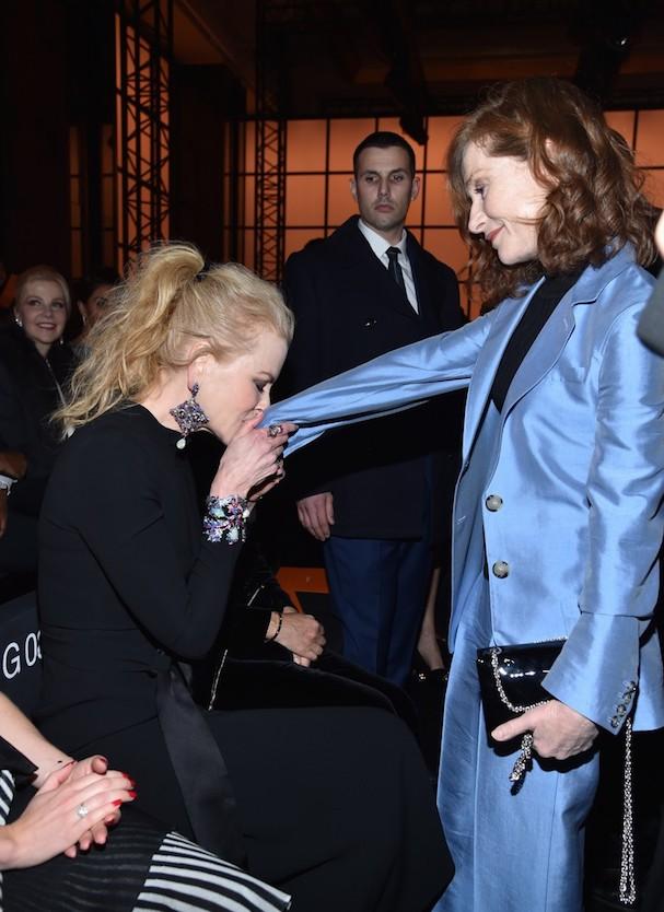 Nicole Kidman Isabelle Huppert