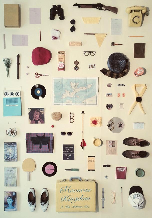 Moonrise Kingdom Objects Poster 607
