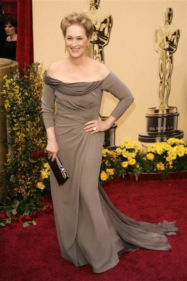Meryl Streep Dress Oscars
