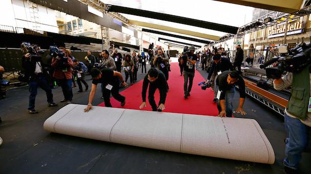 Oscars red carpet trivia 607