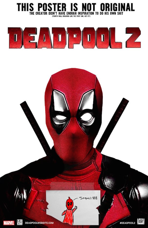 Deadpool 2 Poster Fan Art